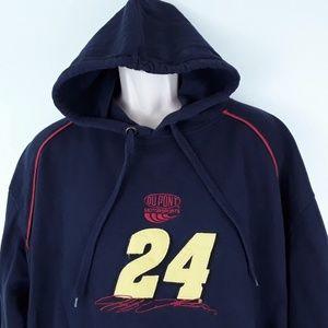 Jeff Gordon 24 Hoodie NASCAR Mens Size XL